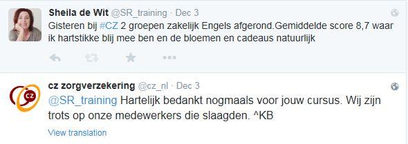 Tweet CZ